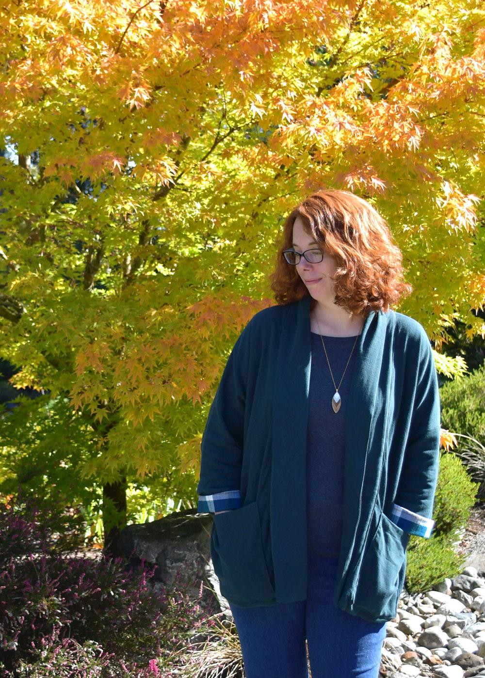 Fall Wiksten Kimono Jacket | Style Maker Fabrics