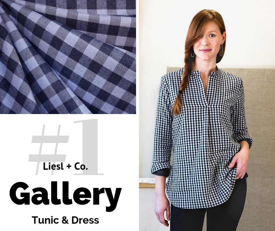 Liesl Co Gallery Tunic | Top Indie Pattern | Style Maker Fabrics