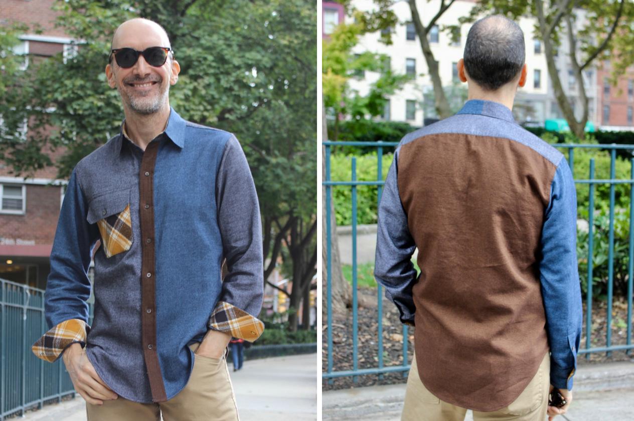 Fall Style Tour | Male Pattern Boldness | Style Maker Fabrics