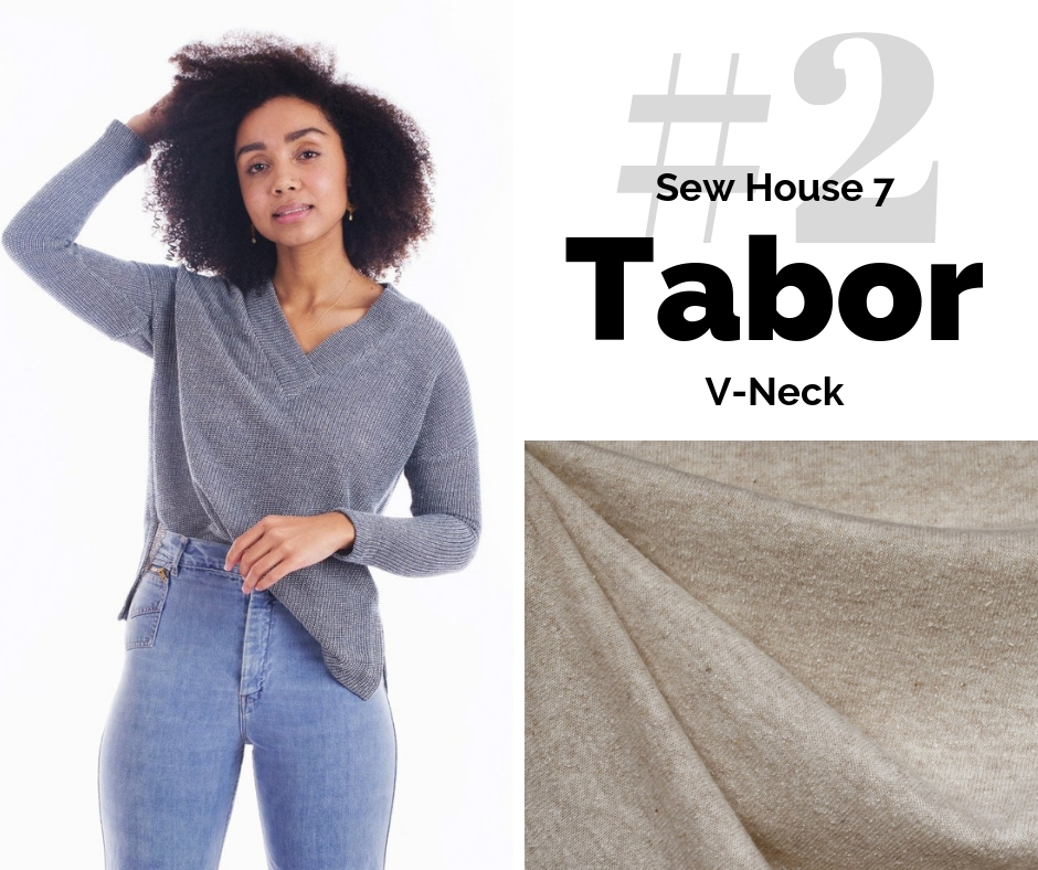 Sew House 7 Tabor | Top Indie Pattern | Style Maker Fabrics