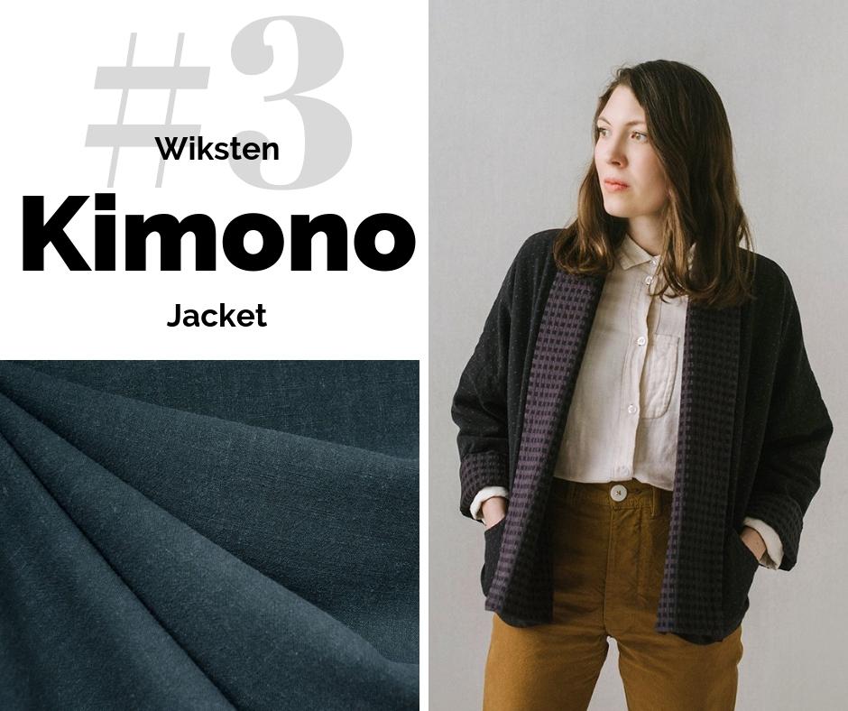 Wiksten Kimono Jacket | Top Indie Pattern | Style Maker Fabrics