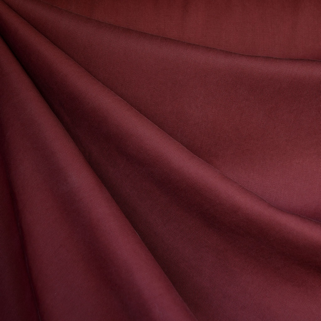 Tencel Twill Burgundy Fabric | Style Maker Fabrics