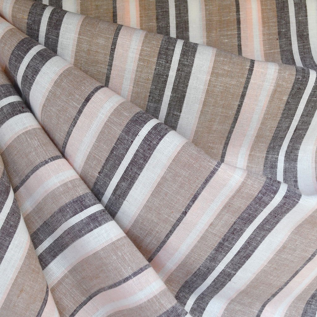 Linen Blend Stripe | Style Maker Fabrics
