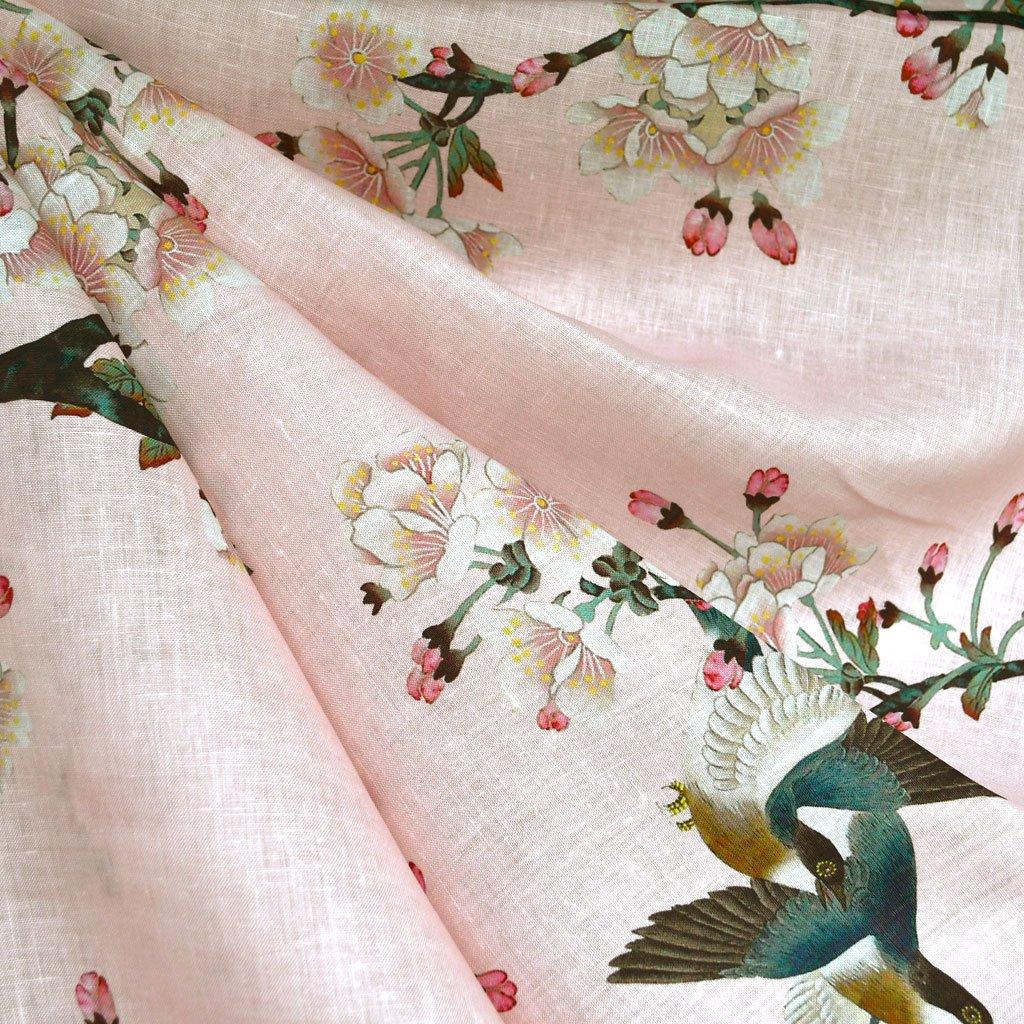 Cherry Blossom Linen | Style Maker Fabrics