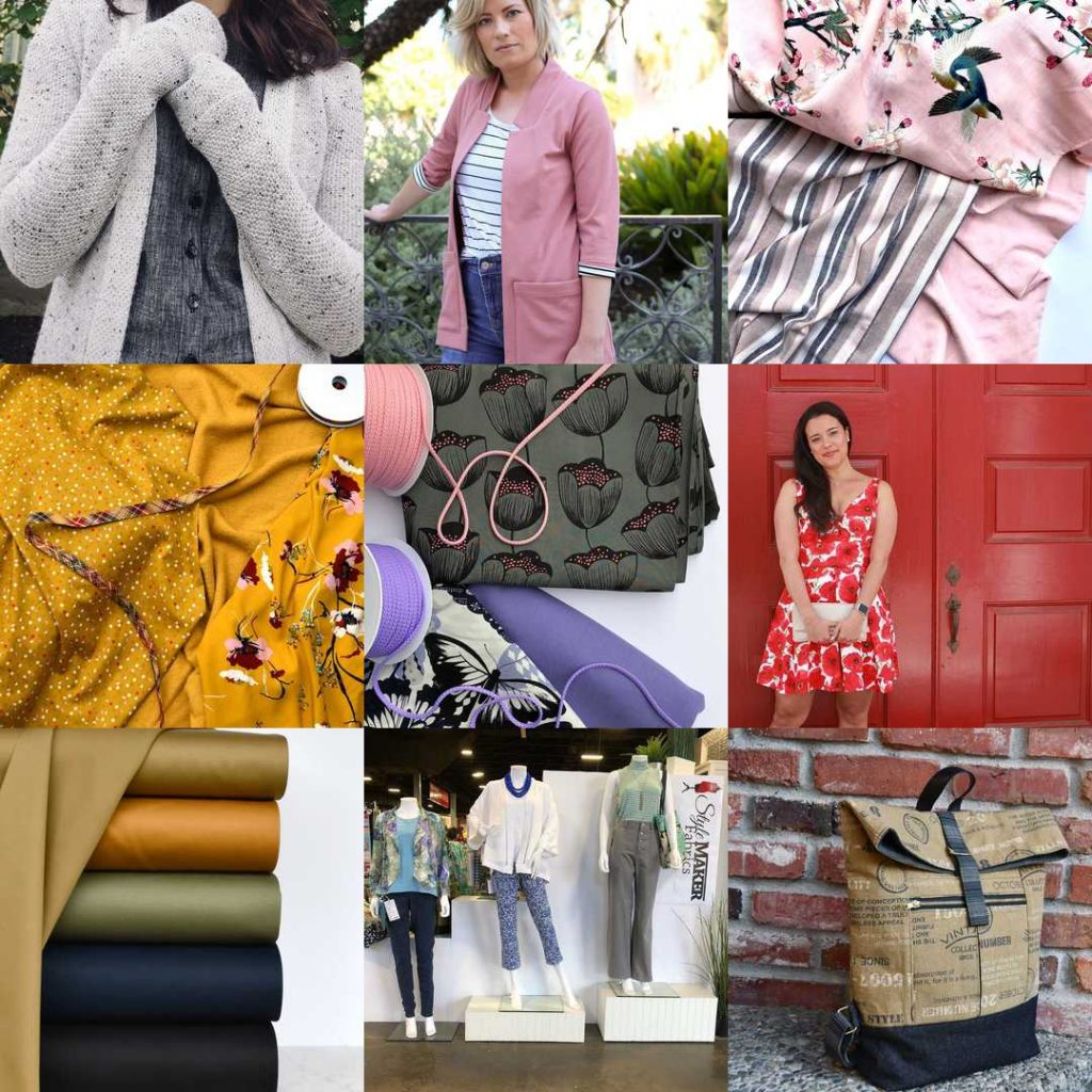 Instagram Top Nine 2018 | Style Maker Fabrics