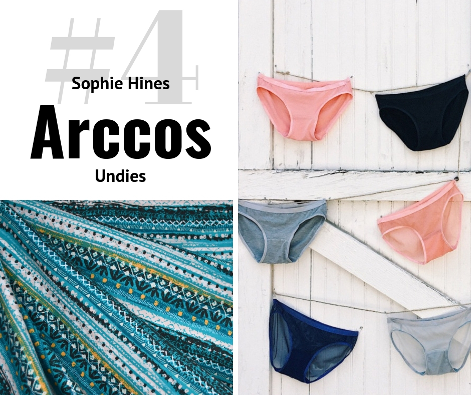 Sophie Hines Arccos Undies | Style Maker Fabrics