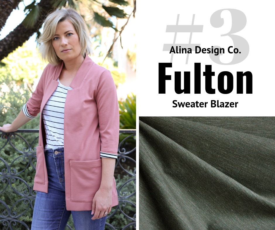 Alina Design Co Fulton Sweater | Style Maker Fabrics