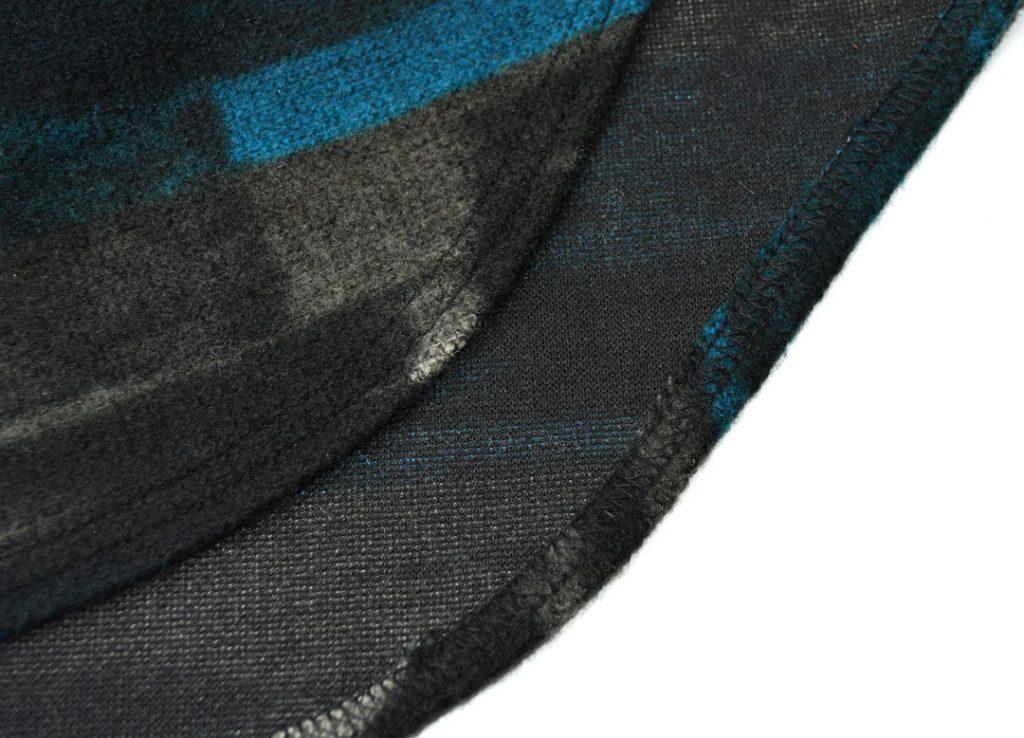Mimosa Cape Hem Detail | Style Maker Fabrics