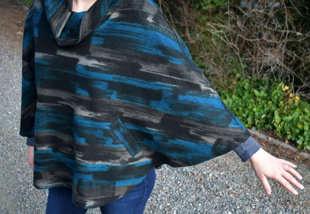 Mimosa Cape Detail | Style Maker Fabrics