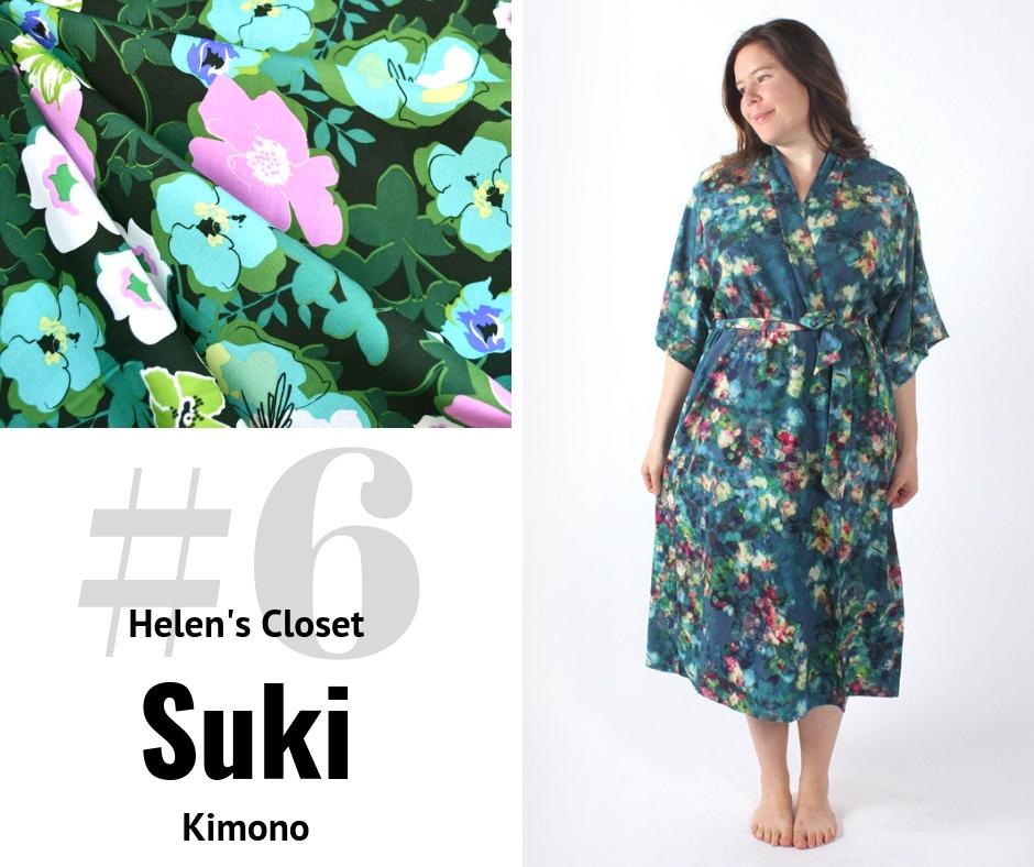 Helen's Closet Suki Kimono | Style Maker Fabrics