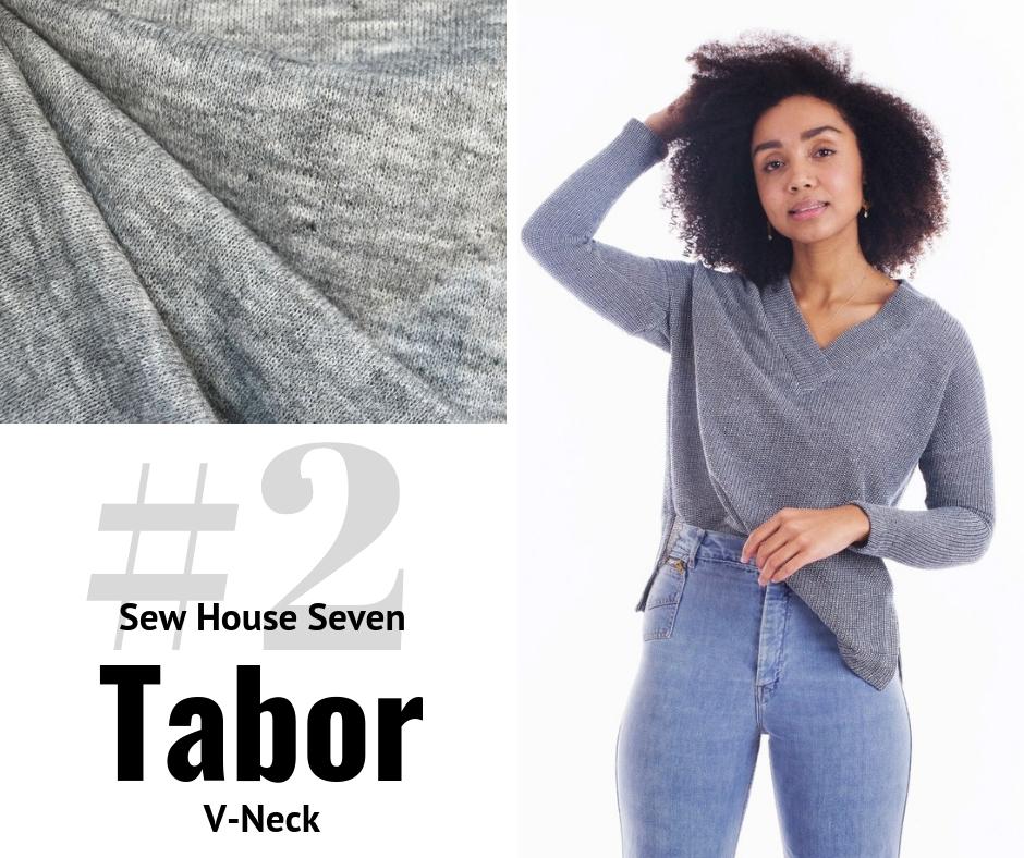 Sew House Seven Tabor V-Neck | Style Maker Fabrics