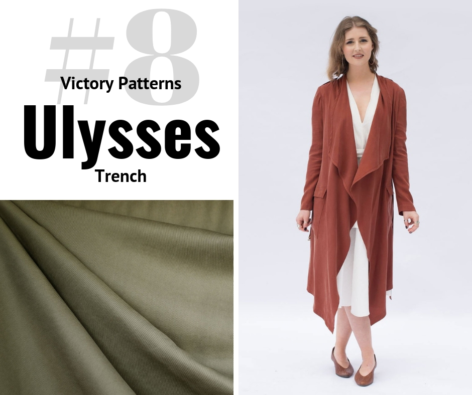 Victory Patterns Ulysses Trench | Style Maker Fabrics