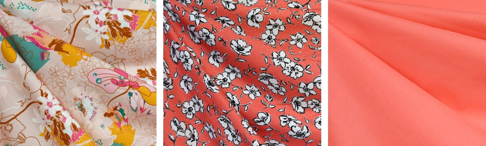 Lively Coral Fabric Trend | Style Maker Fabrics