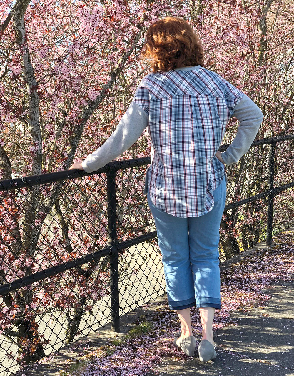 Spring Tabor + Dawn Jeans | Style Maker Fabrics