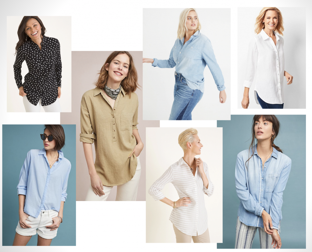 Classic Button-Up Styling | Style Maker Fabrics