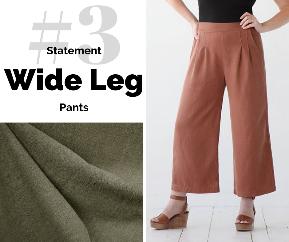 Wide Leg Pants | Style Maker Fabrics
