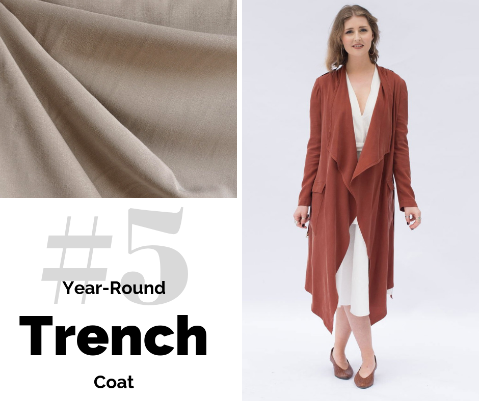 Trench Coat | Style Maker Fabrics
