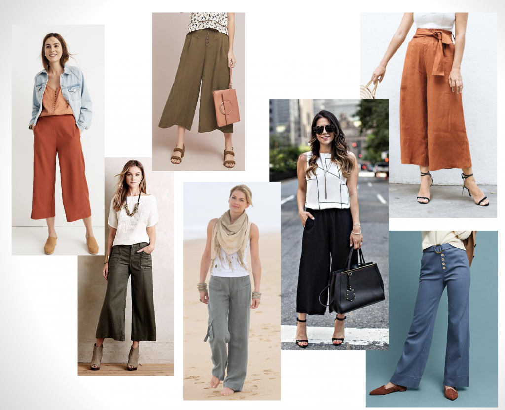 Wide-Leg Pants Styling | Style Maker Fabrics