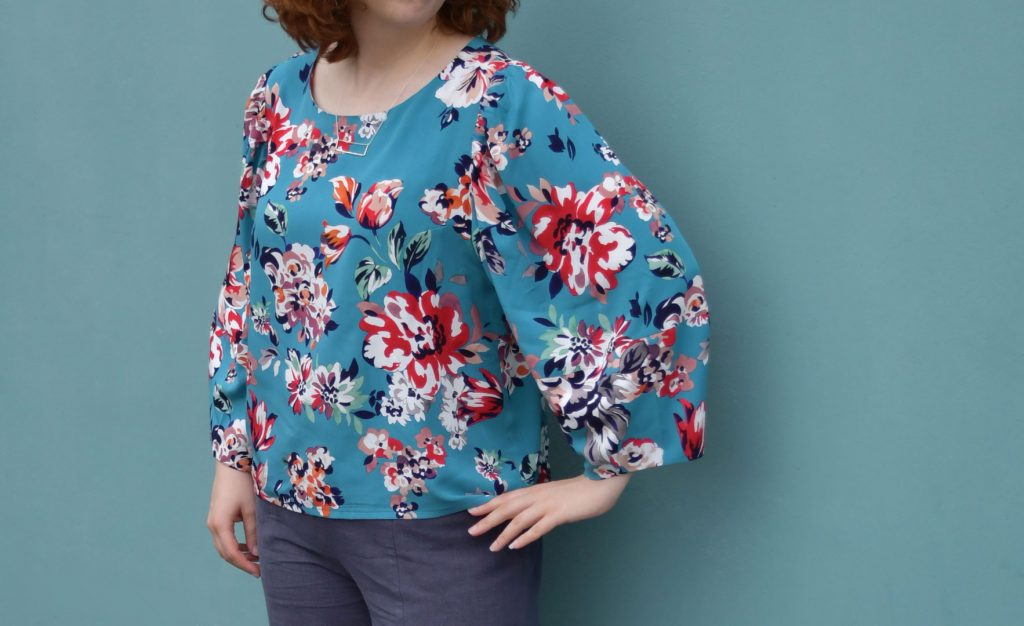 Cielo Top Statement Sleeves | Style Maker Fabrics
