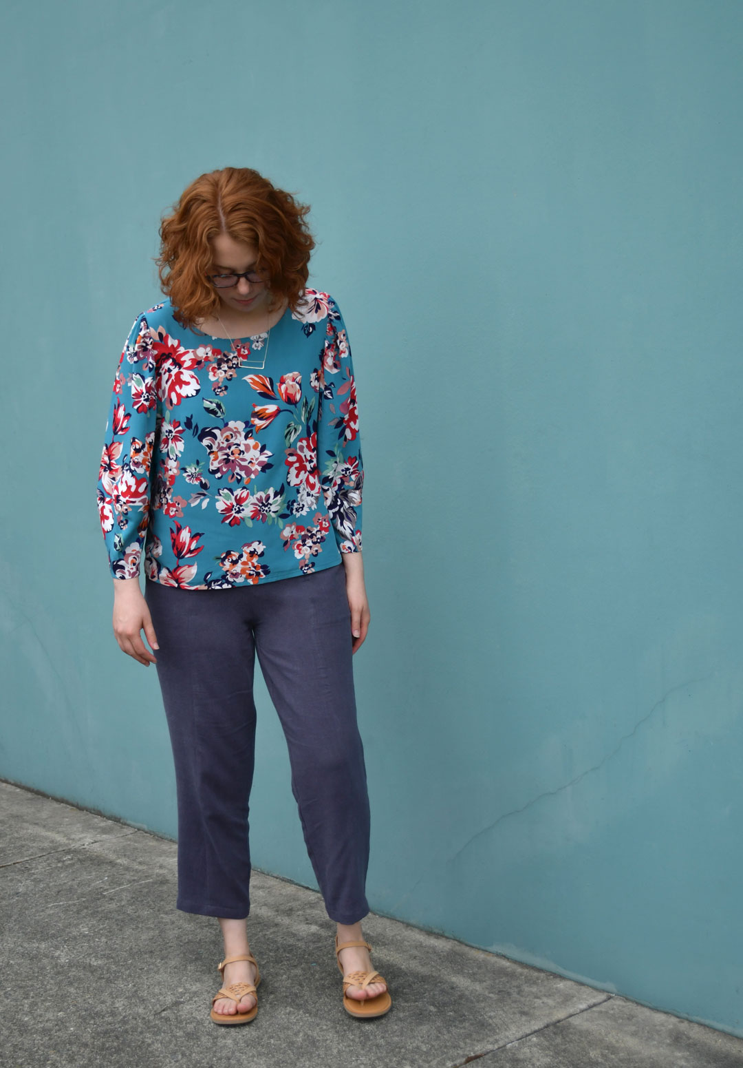 Cielo Top and Pietra Pants Summer Outfit | Style Maker Fabrics