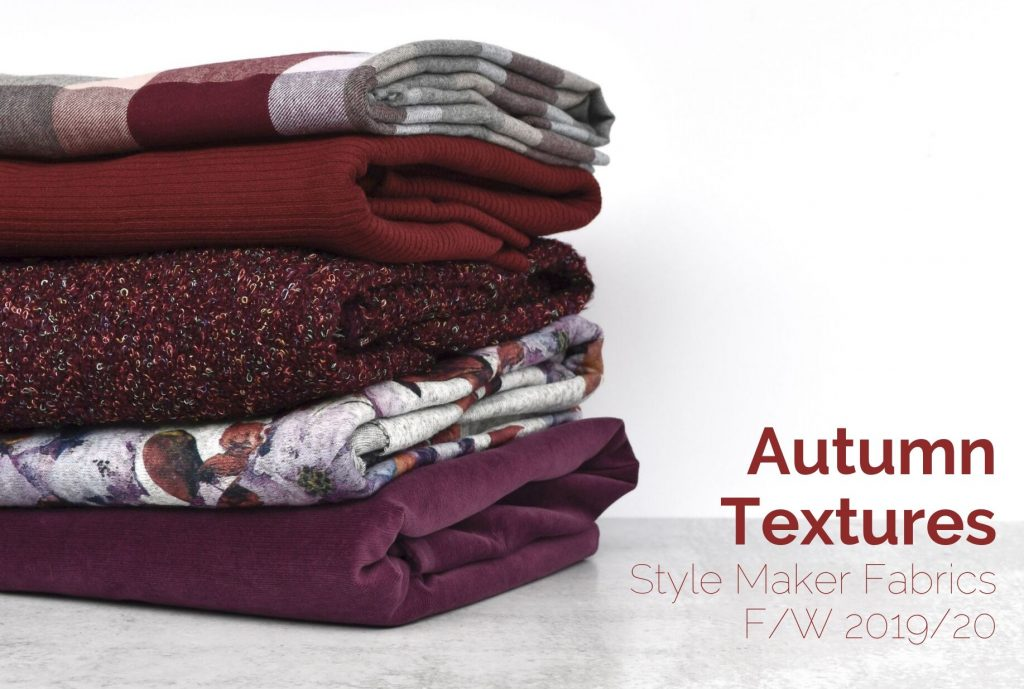 Autumn Textures | Fall Fabric Collection | Style Maker Fabrics