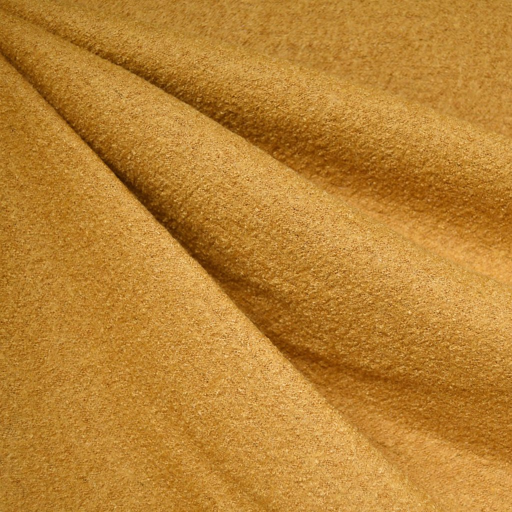 Boiled Wool Blend Turmeric | Style Maker Fabrics