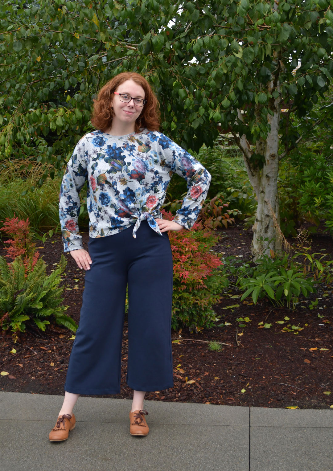 Jarrah + Joan Fall Outfit | Style Maker Fabrics