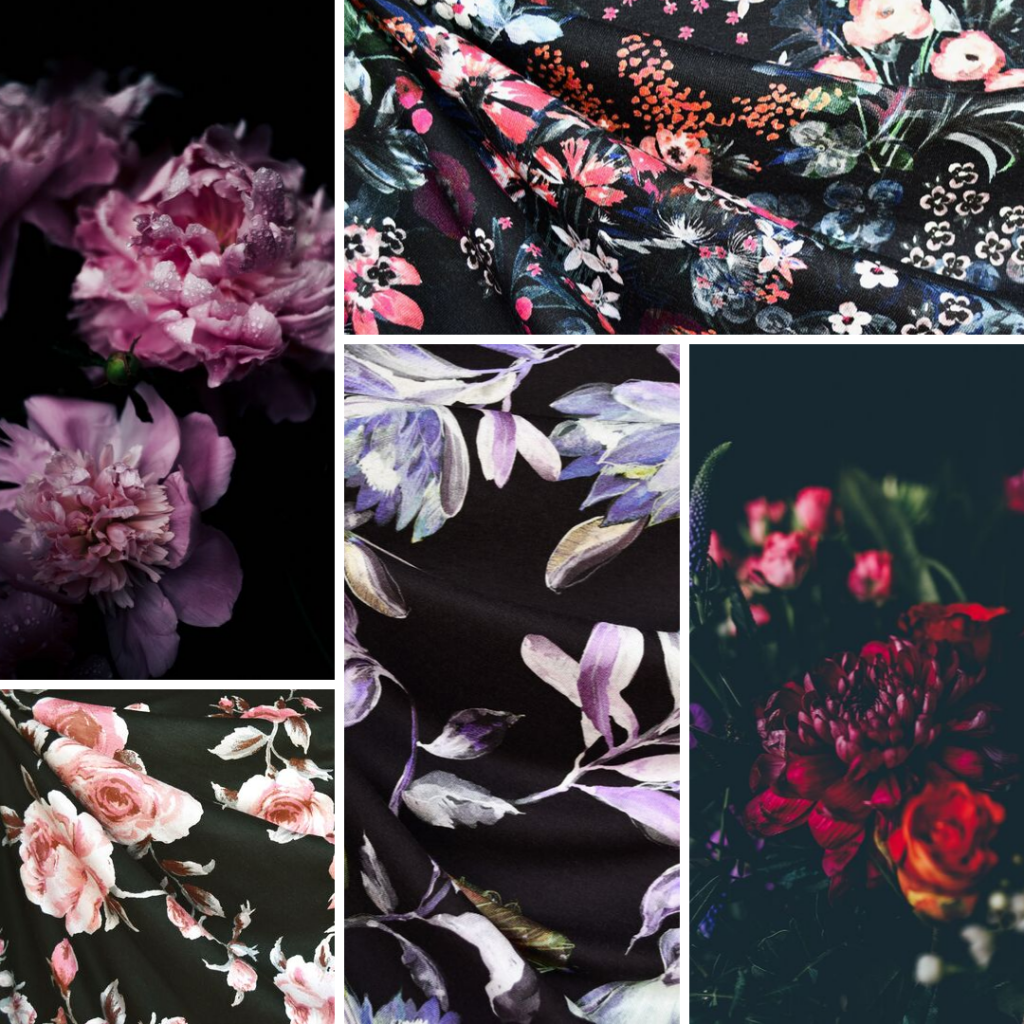 Moody Blooms Fabric Trend Inspiration | Style Maker Fabrics