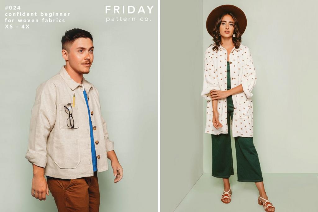 Friday Pattern Co. Ilford Jacket | Style Maker Fabrics