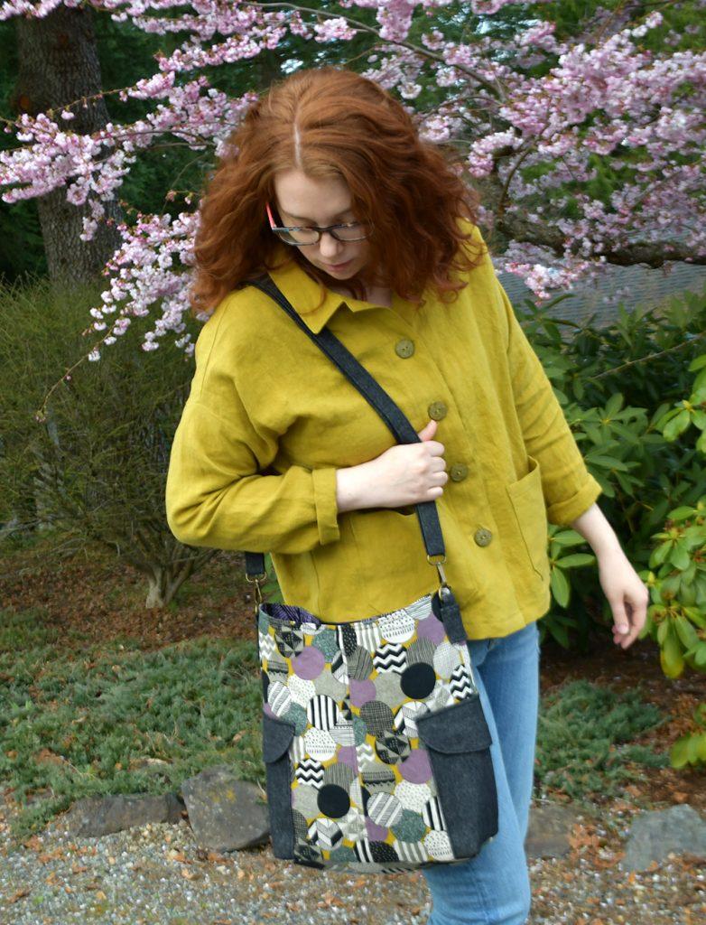 Ilford Jacket + Compass Bag   Style Maker Fabrics