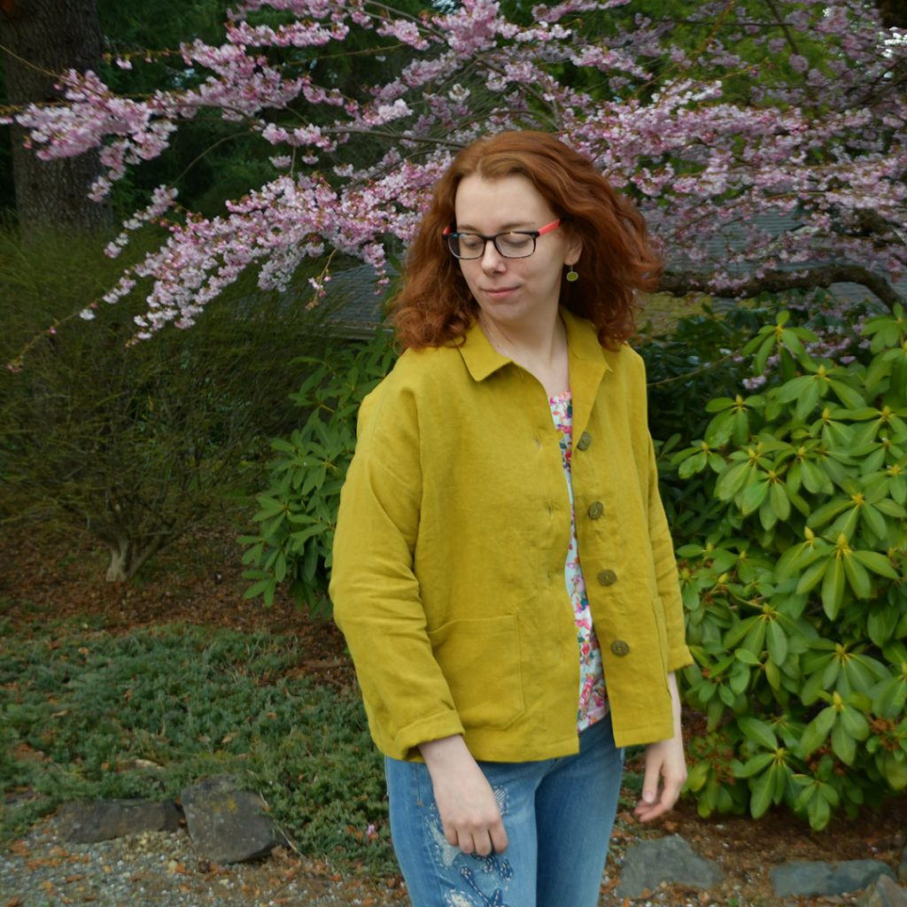 Linen Ilford Jacket | Style Maker Fabrics