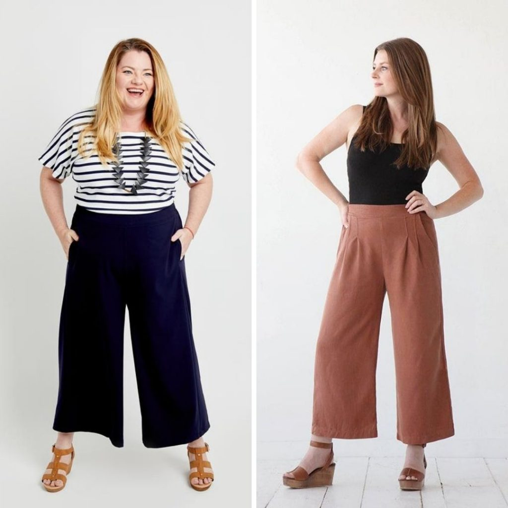 Flat Front Elastic Pants | Calder Pants vs. Emerson Pants
