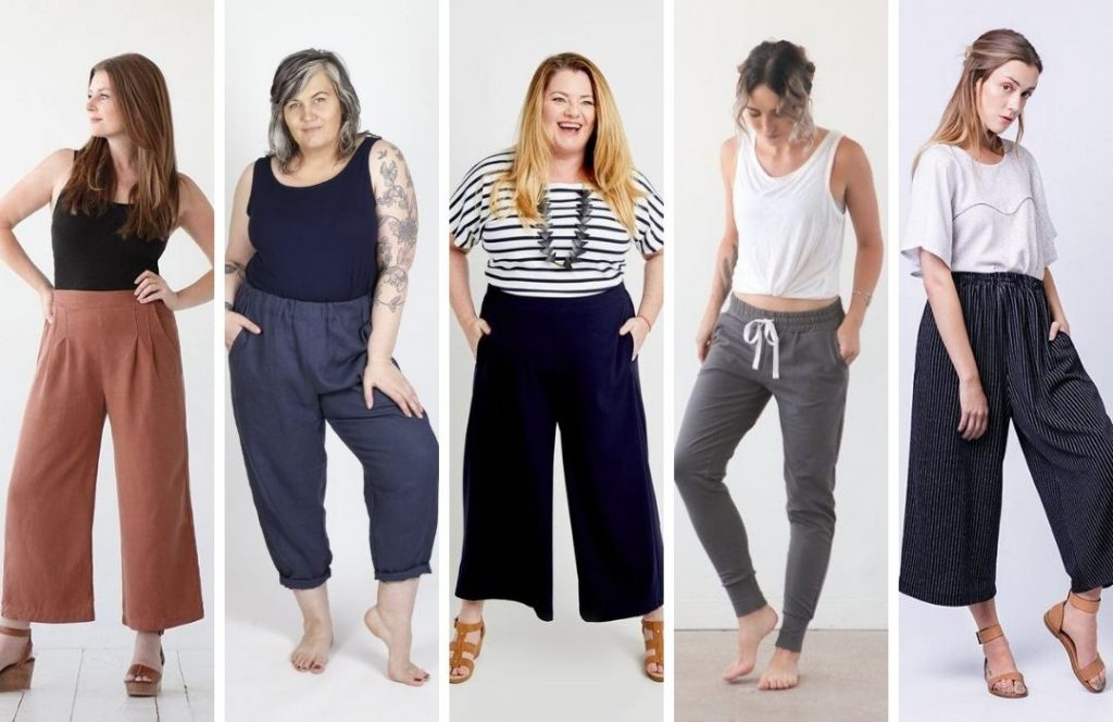 Elastic Waist Pants Comparison | Style Maker Fabrics
