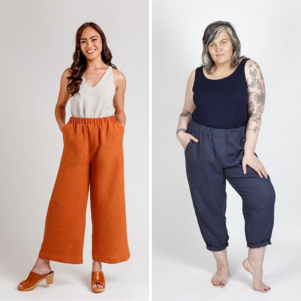 Elastic Waistband Pants | Opal Pants vs. Free Range Slacks