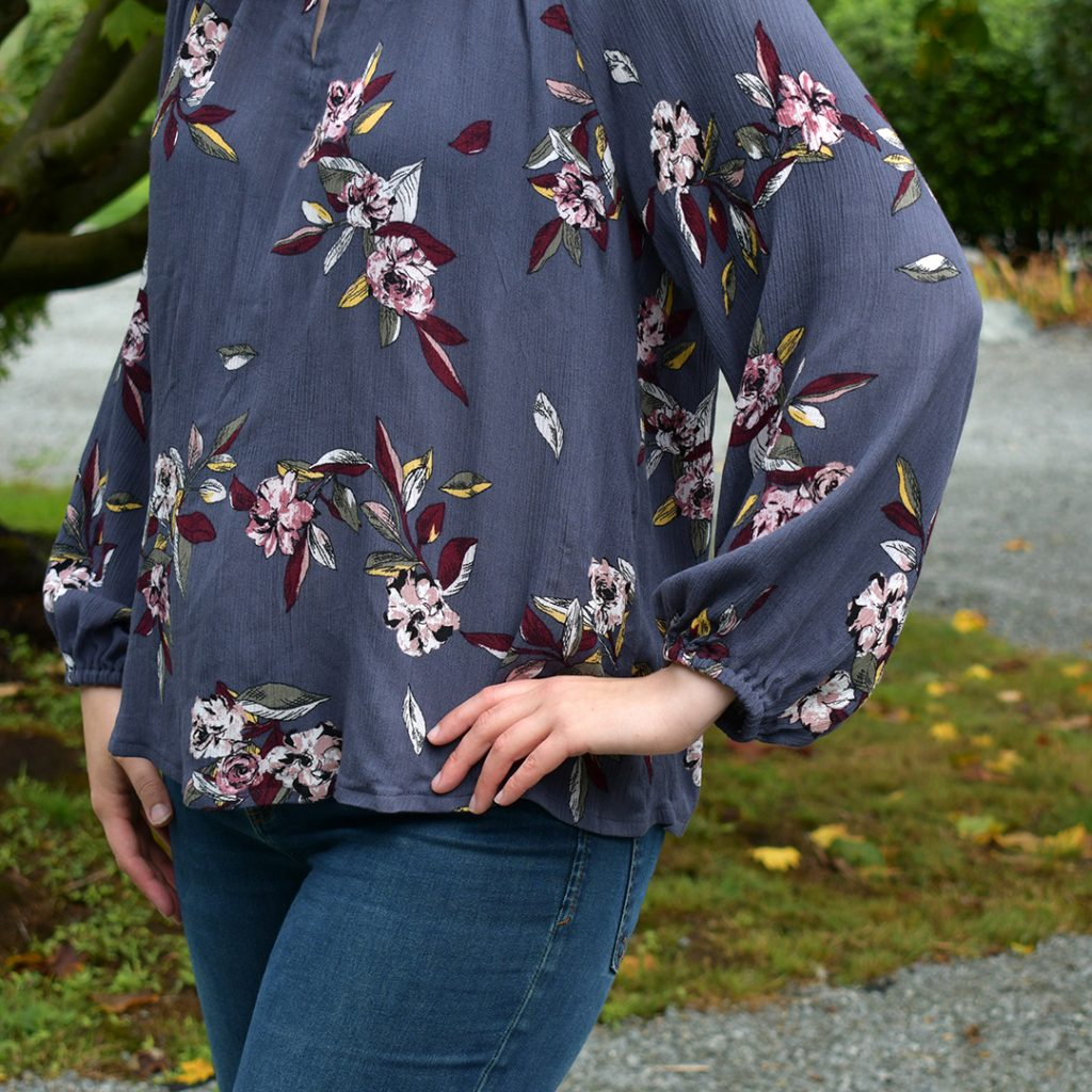Hacked Roscoe Blouse Sleeve Detail | Style Maker Fabrics