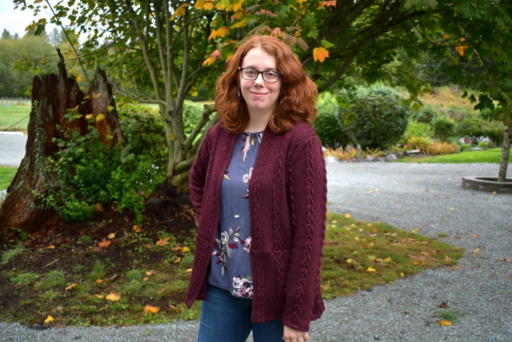Fall Cardigan + Blouse Complete Look | Style Maker Fabrics