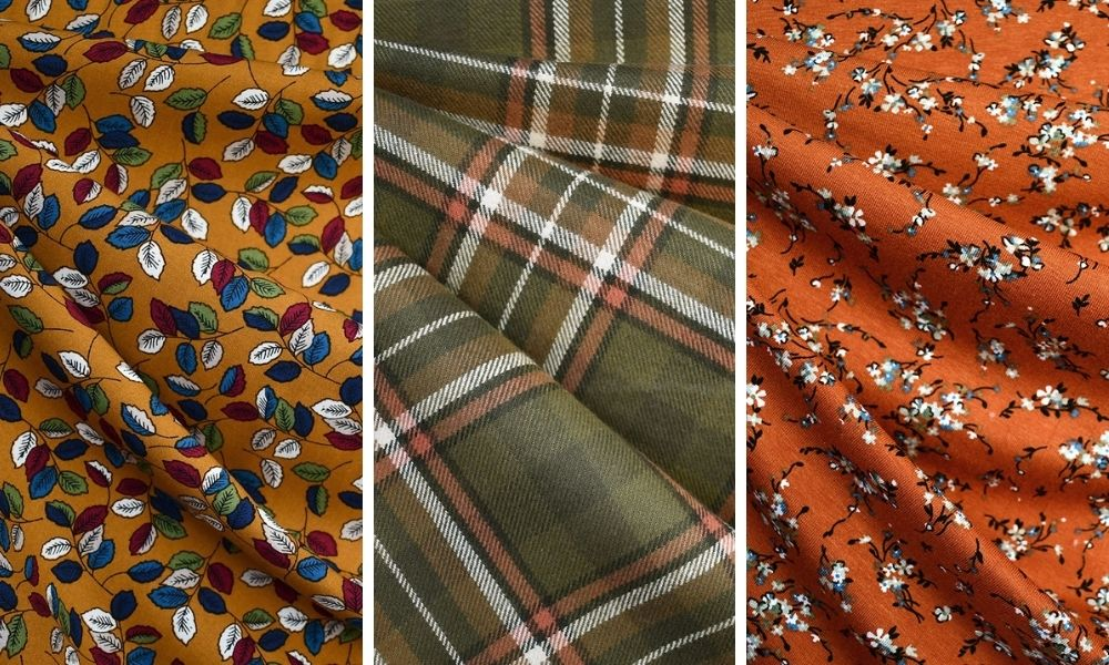 Fabric in Fall Colors | Style Maker Fabrics
