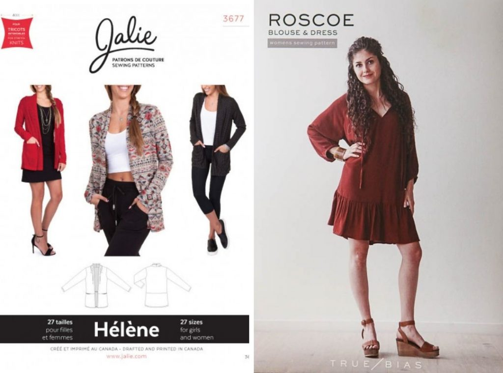 Fall Outfit Sewing Patterns  | Style Maker Fabrics