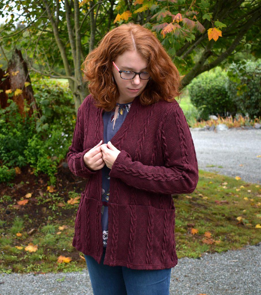 Snuggly Helene Cardigan | Style Maker Fabrics