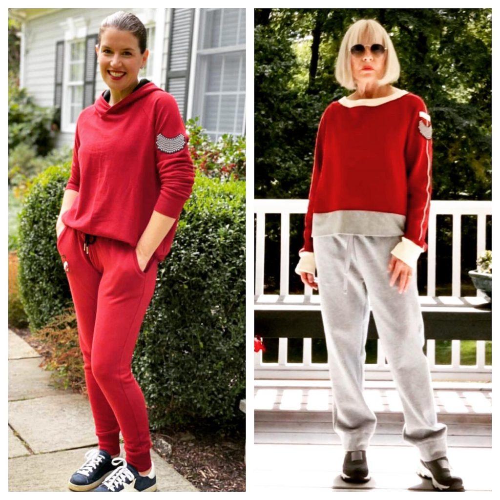 RBG Inspired Looks | Hoodie + Sweats