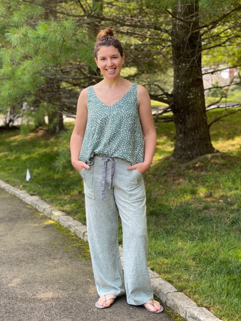 Summer Outfit | Oceanside Pants