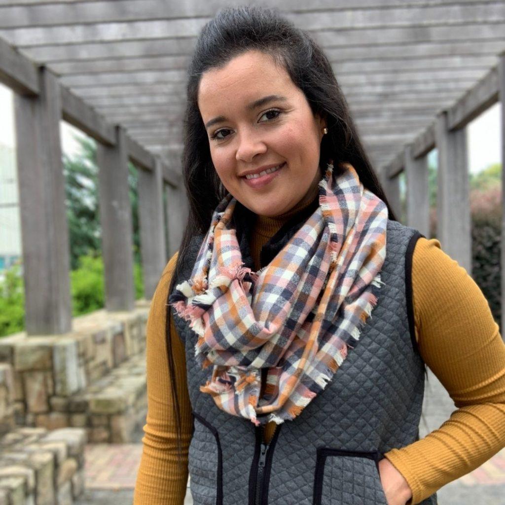 Flannel Blanket Scarf | Style Maker Fabrics