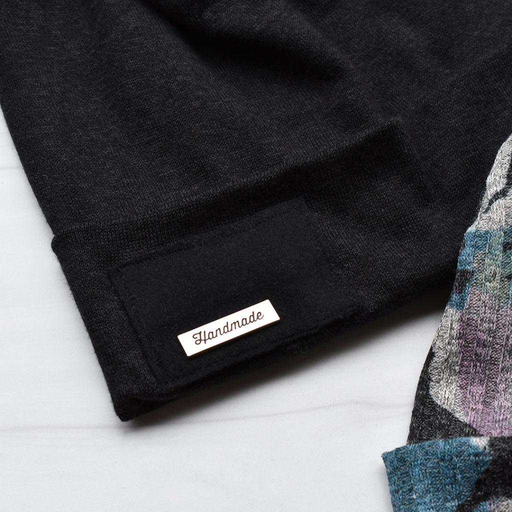 Metal Label Hat Detail | Style Maker Fabrics