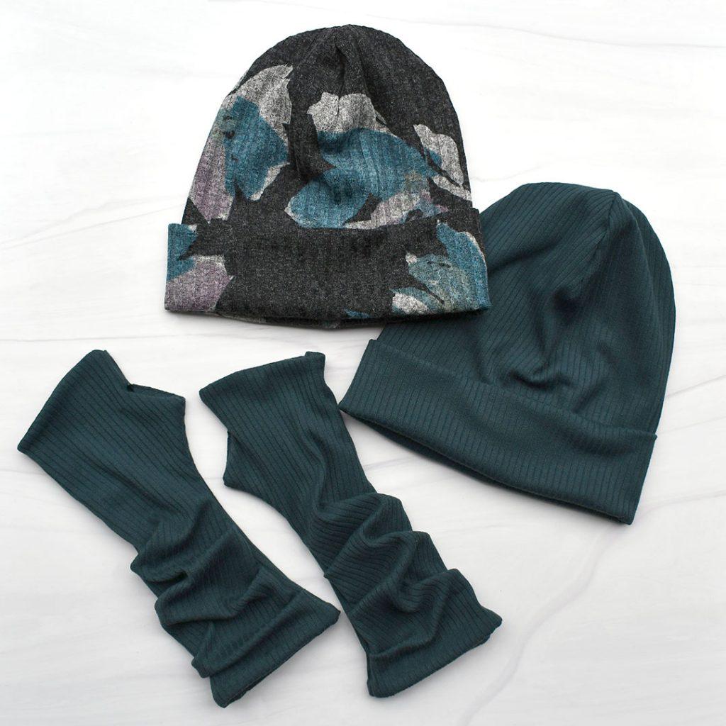 Delia Beanies + Fingerless Gloves | Style Maker Fabrics
