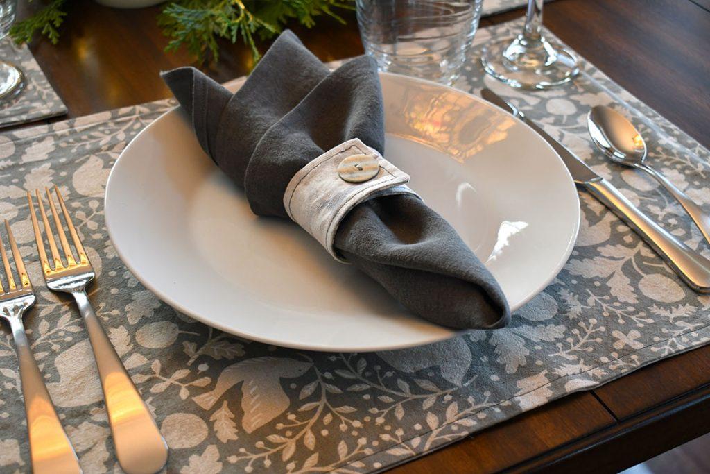 Handmade place setting | Style Maker Fabrics