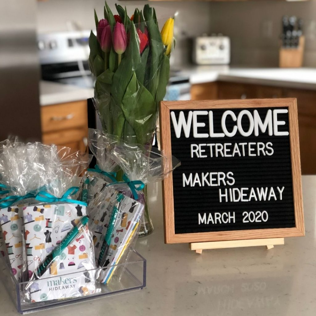 First Retreat at Makers Hideaway | Style Maker Fabrics