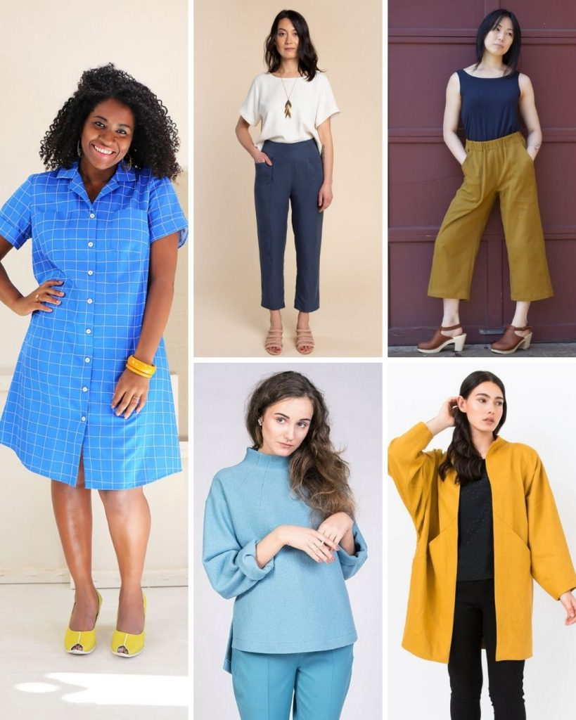 Top 5 Indie Patterns | Style Maker Fabrics