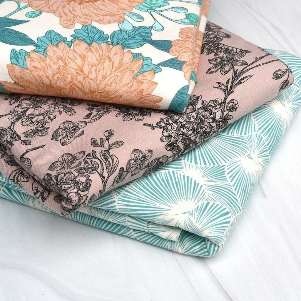See You at Six Spring French Terry Fabrics | Style Maker Fabrics