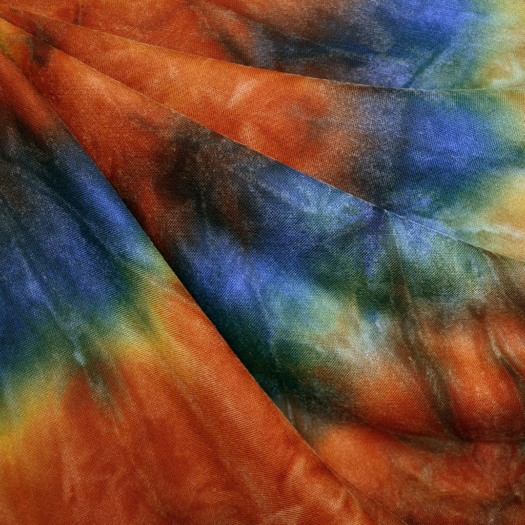 Marble Dye French Terry Fabric