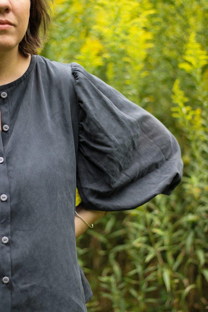 Athena Blouse Sleeve Detail